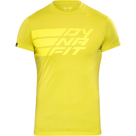 Dynafit Compound Maglietta a maniche corte Uomo giallo
